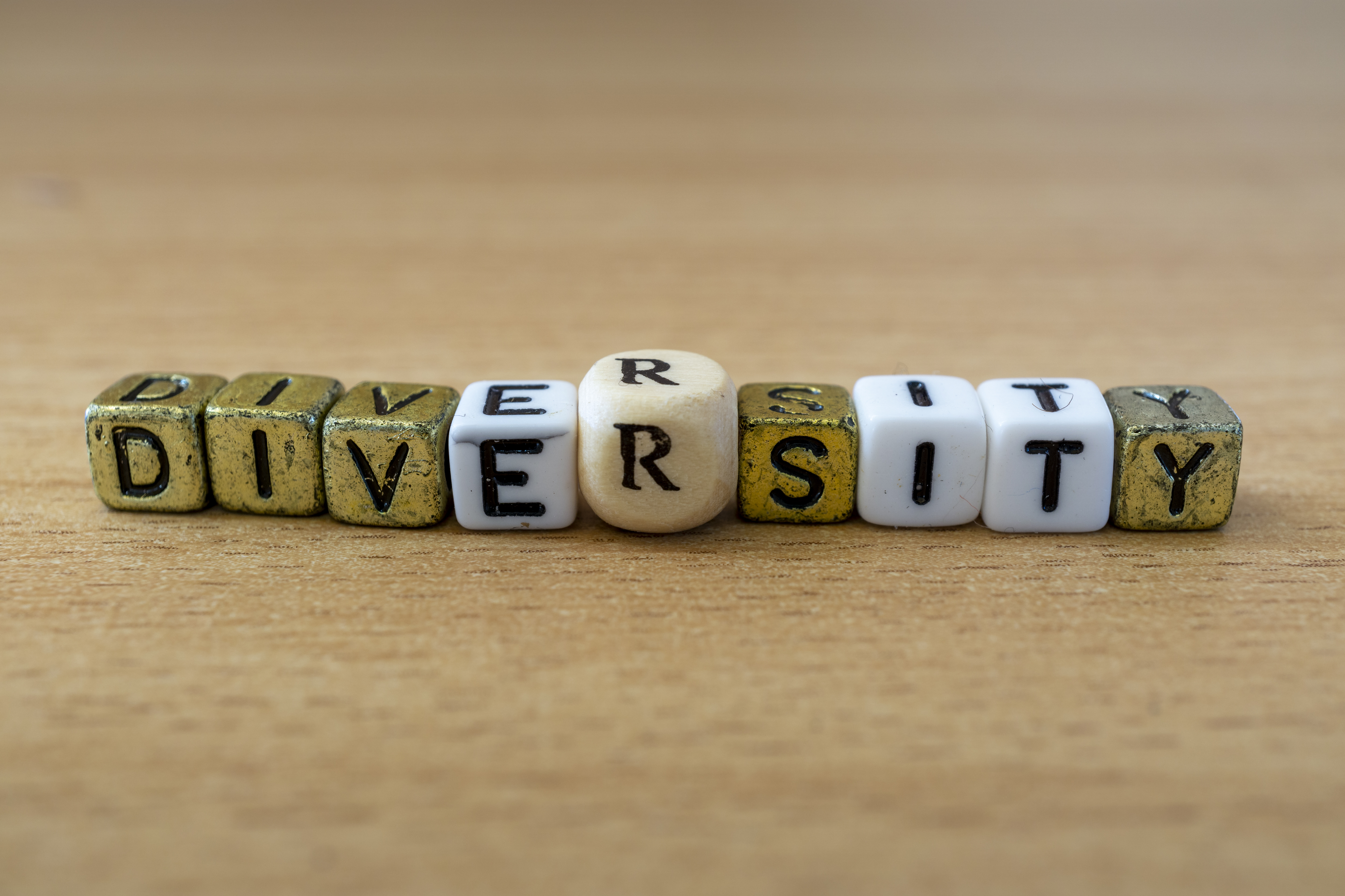 GettyImages-1163105002 (Diversity word sign on a wooden desk)